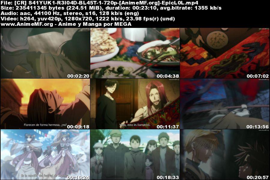 Vista previa de Saiyuuki Reload Blast 01 HD Sub Español MEGA