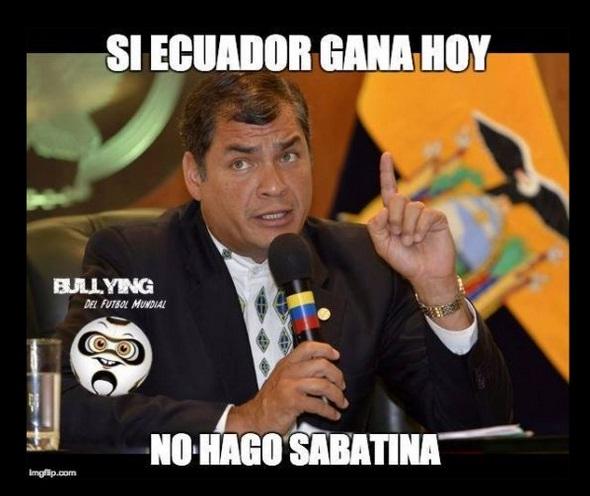 memes ecuador y argentina