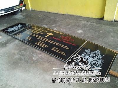 Contoh Bongpay Katolik, Batu Nisan Kuburan Cina, Bongpay China
