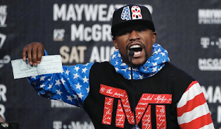 Floyd Mayweather fumes at IRS over tax bill: They got $26 million from me. 'What else could they possibly want?'