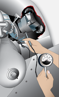 Reciprocating Engine Cold Cylinder Check