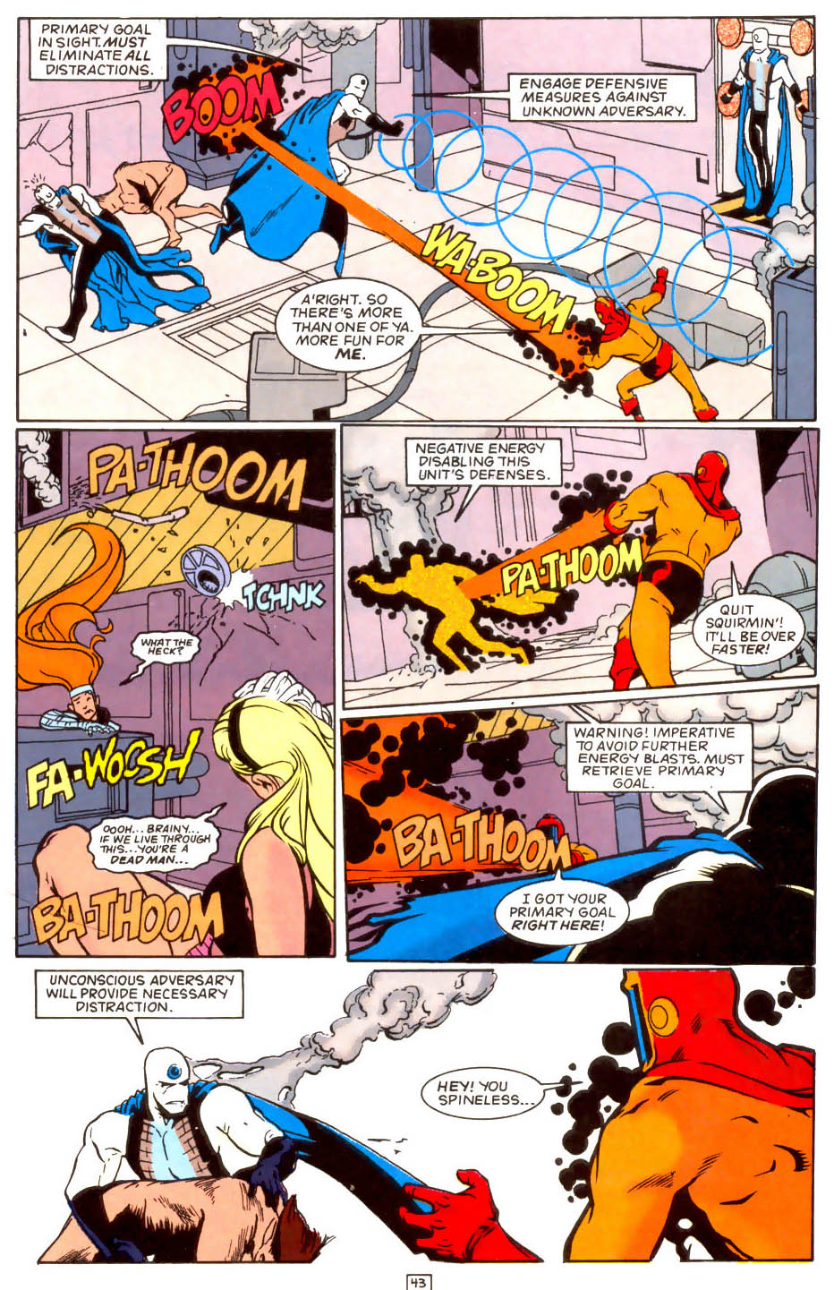 Legion of Super-Heroes (1989) 50 Page 43