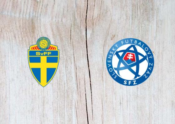 Sweden vs Slovakia - Highlights 16 October 2018