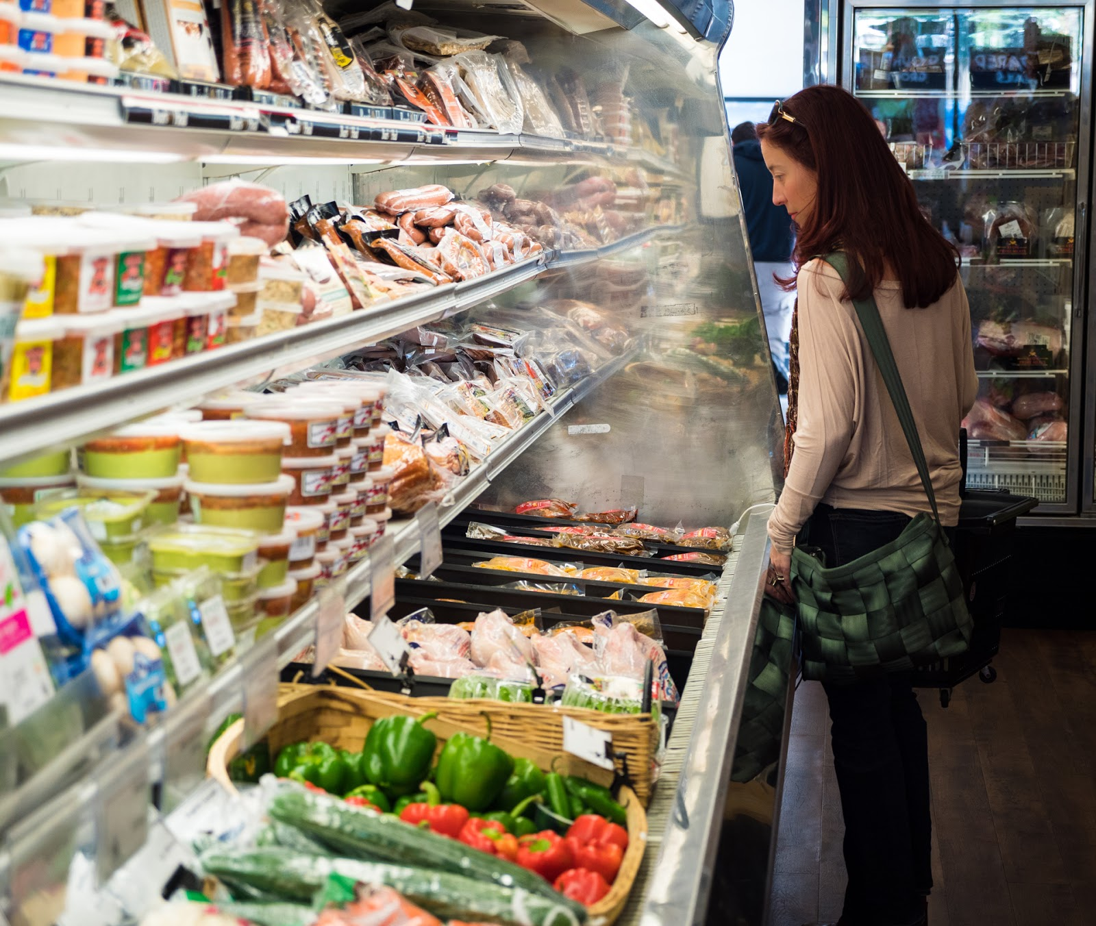 Local Food Rocks: Avon Prime Meats produce section