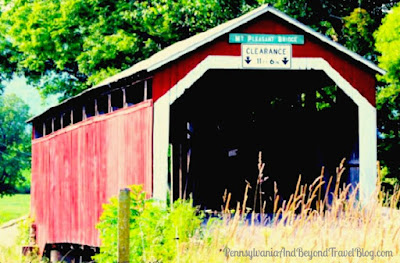 Mt. Pleasant Covered Bridge in Perry County, Pennsylvania