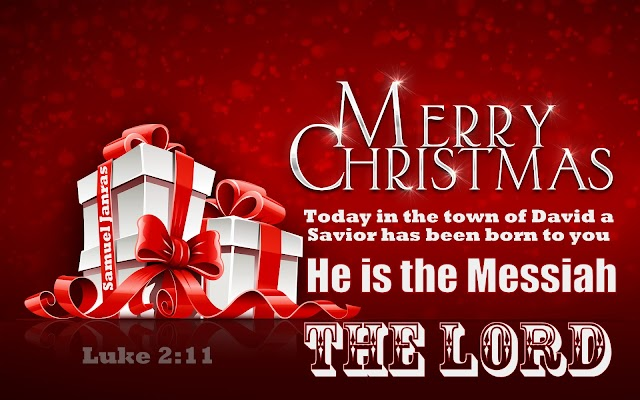 Merry Christmas Messiah The Lord Greetings