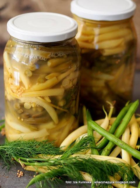 kiszona fasola, jak zakisic fasolke szparagowa, szparaga kiszona w sloikach, kiszonki, przetwory, warzywa kiszone, samo zdrowie, jedz kiszonki