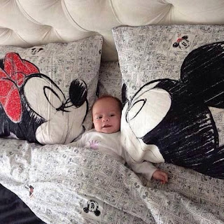 Fundas de almohada mickey y minnie
