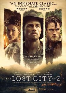Sinopsis pemain genre Film The Lost City of Z ()