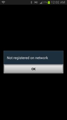 أفضل حل لتقوية الاشارة للهاتف الأندرويد طريقة حل مشكلة الاشارة في الأندرويد حل مشكلة  not registered in network