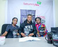 Flavour Signs On As FlatTummyTea with moringa Ambassador