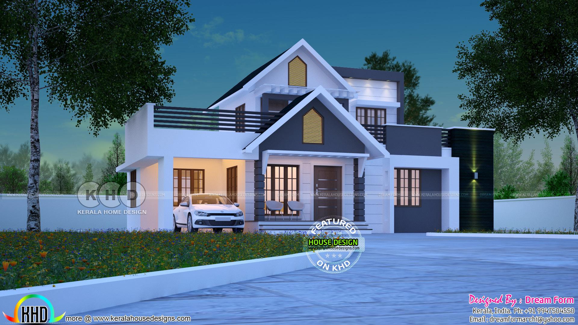Marvelous Ground Floor Plan Width : 13.50 M Ground Floor Plan Length : 11.00 M.  Facilities Read More » Please Follow Kerala Home Design