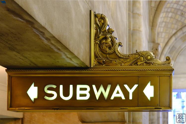 Le Chameau Bleu - New York et son métro subway - Manhattan