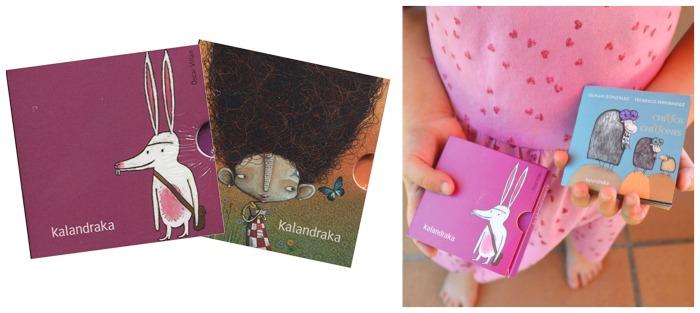 cuentos infatiles formato mini llevar maleta verano vacaciones recomendados minilibros soñar kalandraka