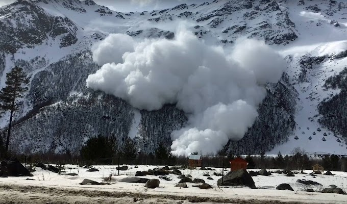 Avalanche na Rússia deixa 4 mortos