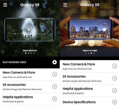 Cara Mengubah Android Biasa Seperti Samsung Galaxy S9 dan S9+