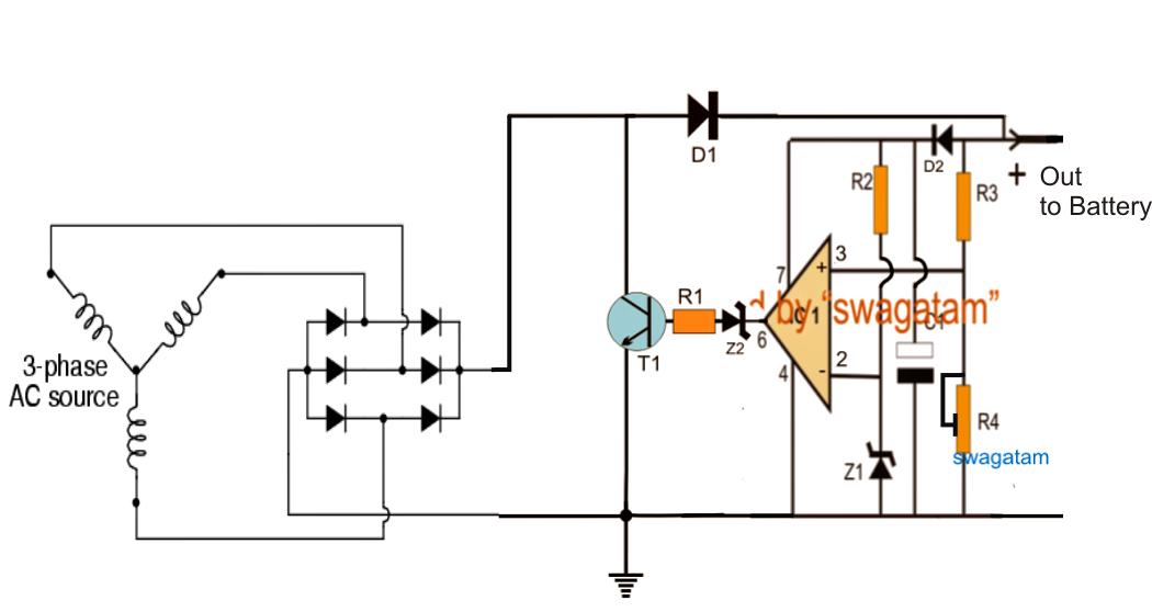 motorcycle full wave shunt regulator circuit