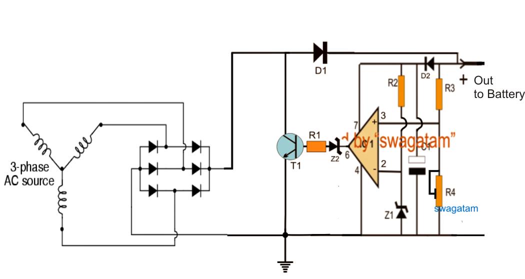 motorcycle voltage regulator circuit diagram