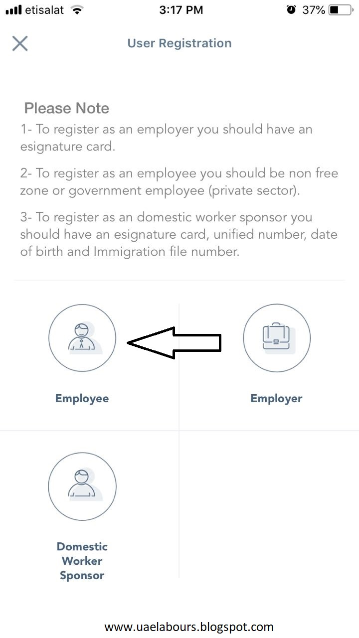 We are dorsum alongside a direct alongside screenshots close  Check UAE Labour Card Online (Card+Contract)