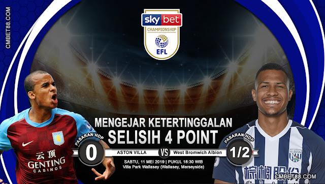 Prediksi Bola Aston Villa VS West Bromwich Albion