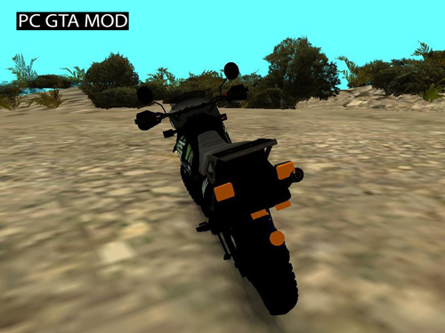Free Download KLR 2014 Mod for GTA San Andreas.