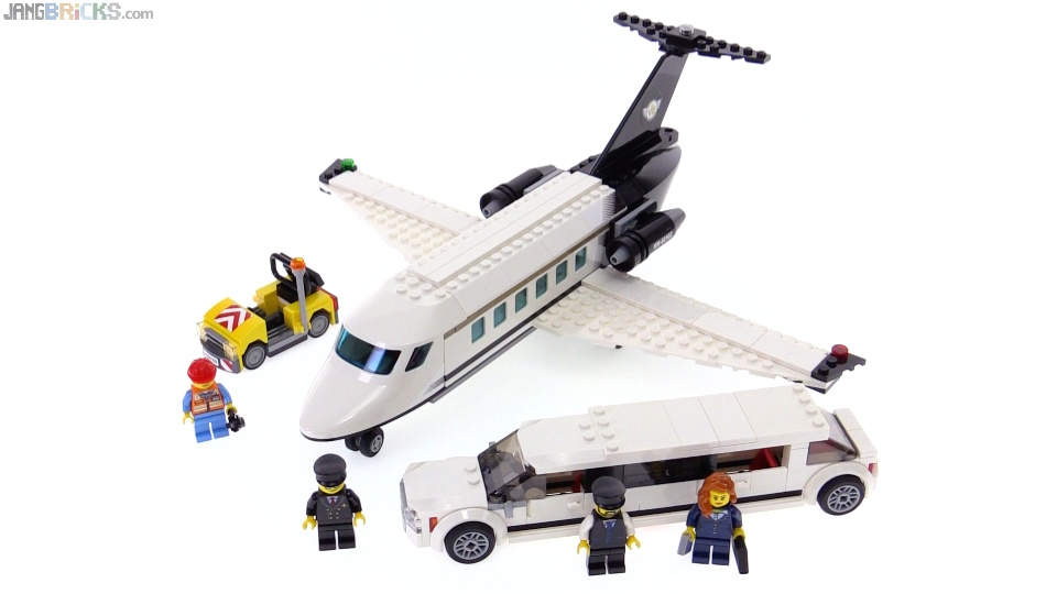 Lego City Airport Vip Service Review 60102