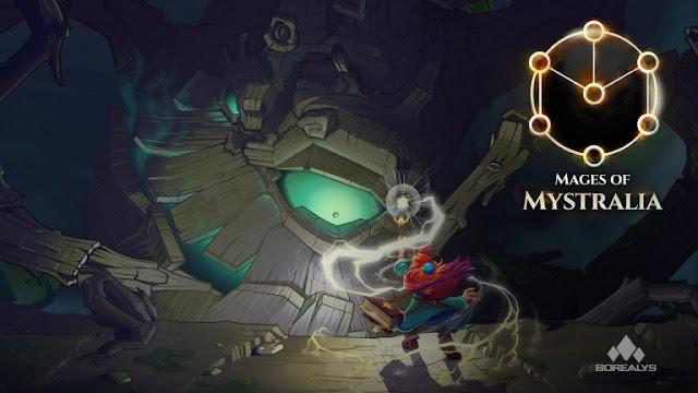 تحديد موعد إصدار لعبة Mages of Mystralia لجهاز PS4