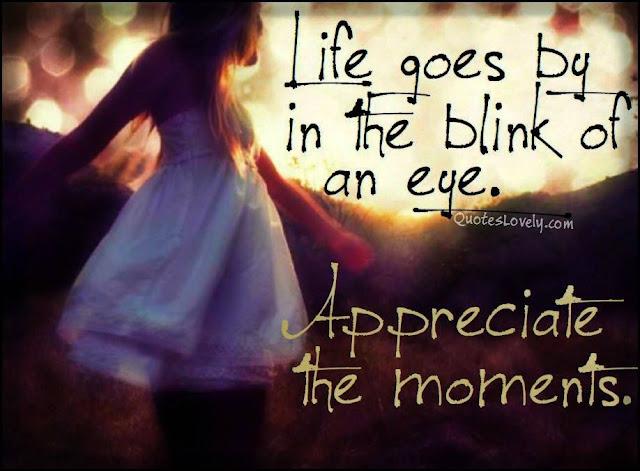 Appreciate the moments