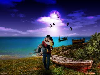 imagen paisaje de amor+14 febrero+enamorados