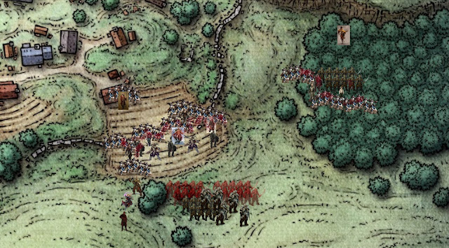 Final battle to defend Phandalin from invading orcs