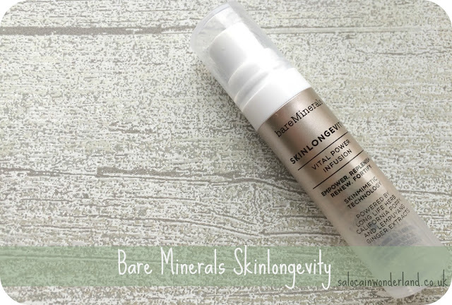 bare minerals skin longevity review