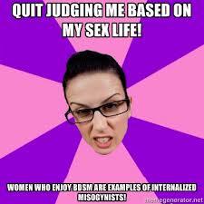 Feminism and bdsm