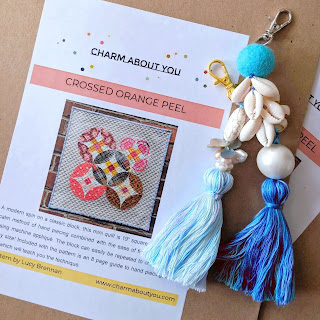 paper patterns charm about you and bag tassel charms