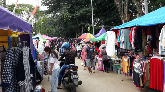 Pasar kaget Merdeka Depok terdekat dari Kost