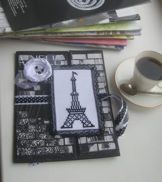 Коллекция открыток 2011. BLACK & WHITE  «Париж»