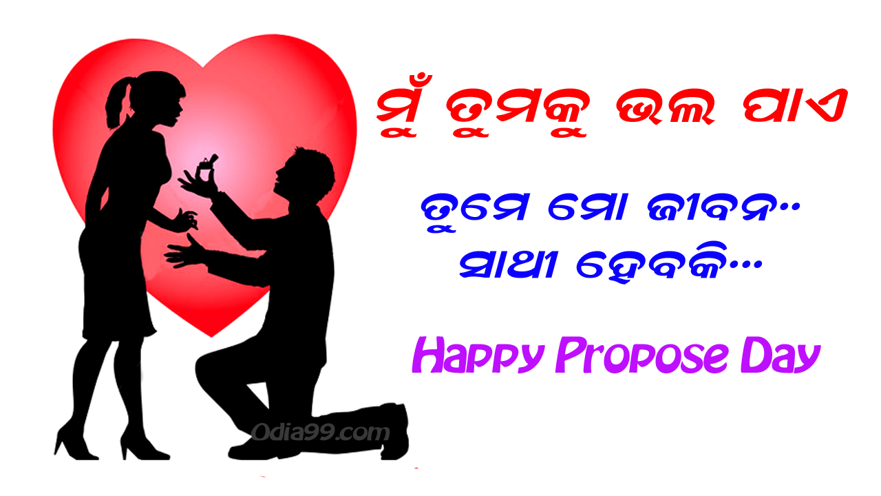 Propose Day Odia Wallpaper Shayari Sms Proposeday Funny Pic For