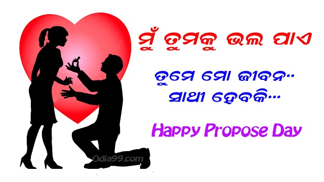 Propose Day Odia Wallpaper, Shayari SMS, ProposeDay Funny Pic for Whatsapp