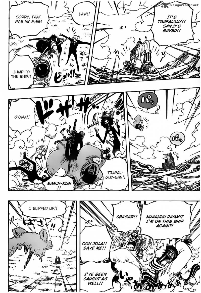 One Piece Ch 724: Law's Plan.