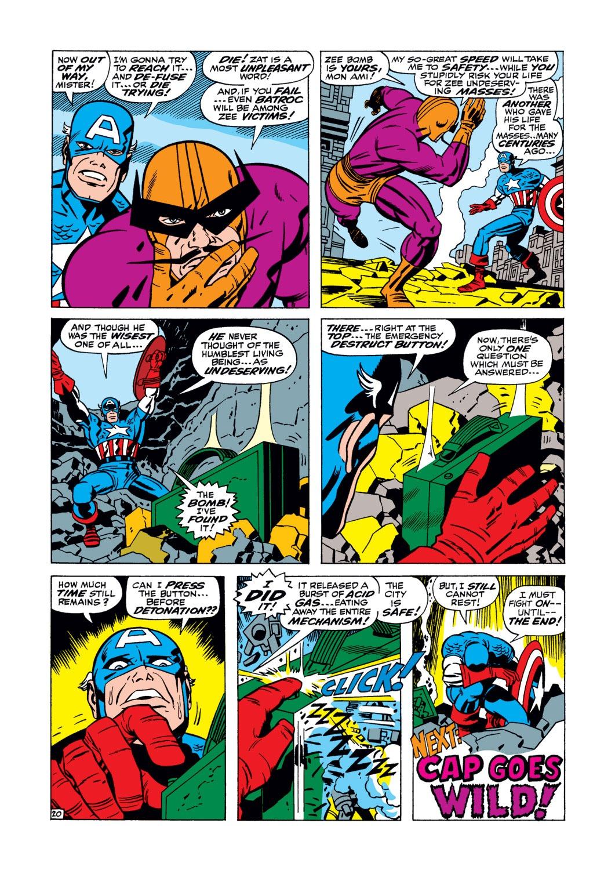 Read online Captain America (1968) comic -  Issue #105 - 21