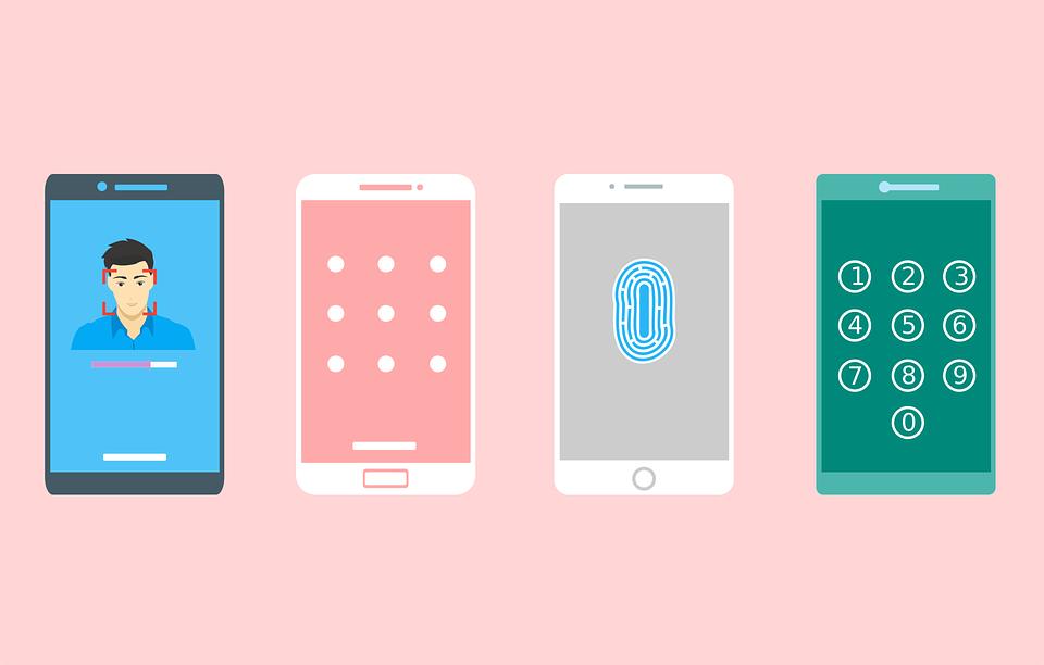mode kunci layar smartphone