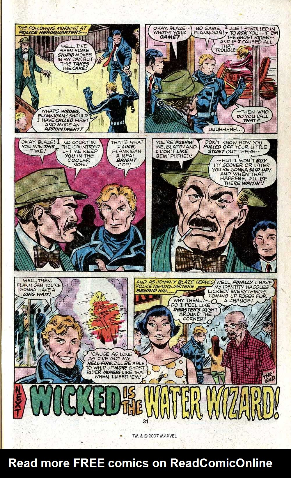 Ghost Rider (1973) Issue #22 #22 - English 33