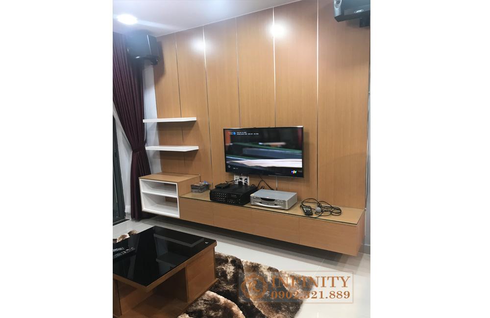 EverRich Infinity Phát Đạt cần tìm khách thuê căn 2 phòng ngủ - tivi phòng khách