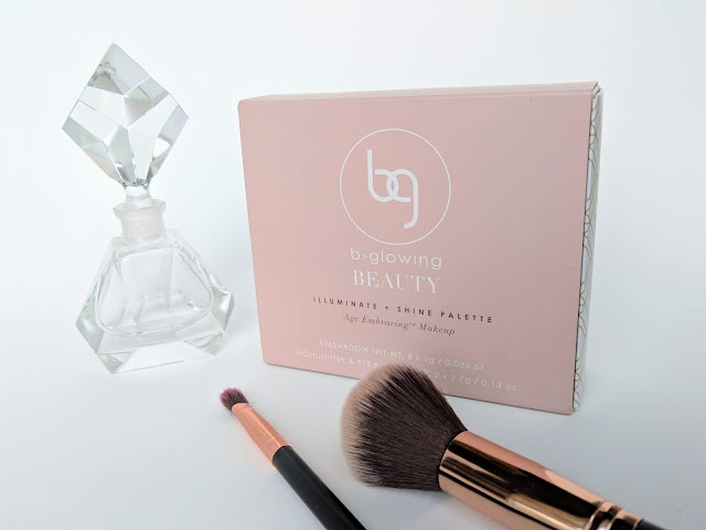 B-Glowing Beauty Illuminate + Shine Palette Full Packaging