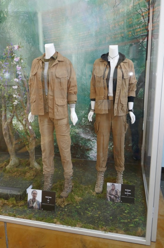 Annihilation movie costume exhibit