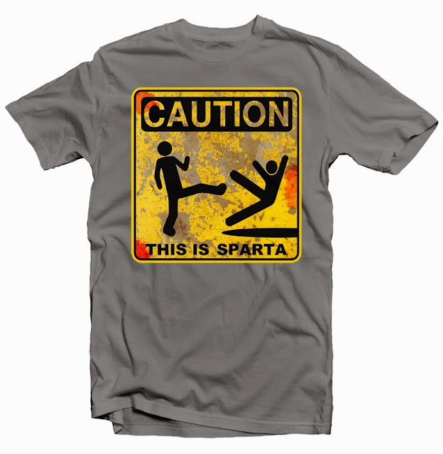 this is sparta tshirt design