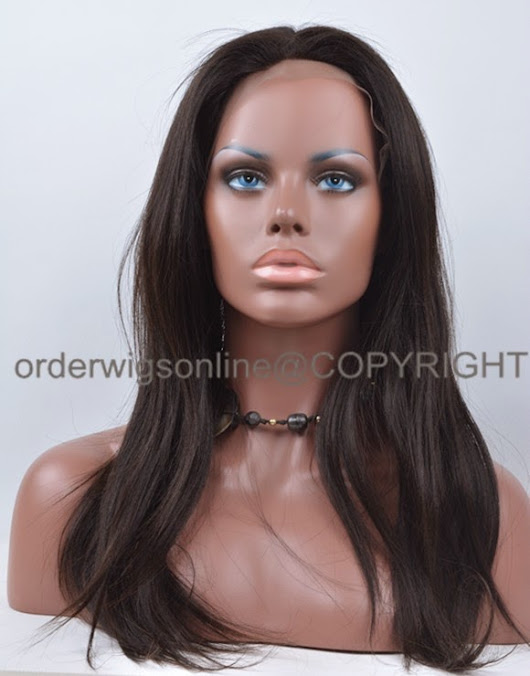 Glueless Silk Top Lace Wig