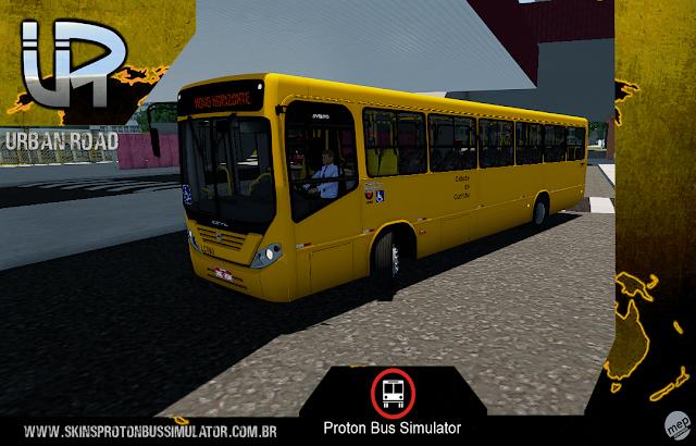 Skin Proton Bus Simulator - Comil Svelto 2008 VW 17.230 EOD Viação Pioneiro