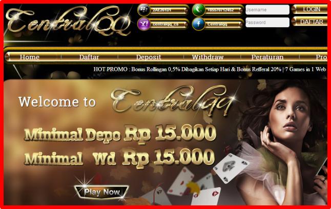 Centralqq Net Situs Dominoqq Domino Qiu Qiu Domino 99 Bandarq Poker Online Terpercaya Tbc Onlinepoker