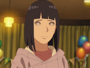 hyuuga Hinata with short hair