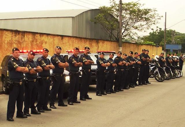 O fardamento das Guardas Civis Municipais brasileiras